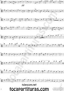 2 Partituras de Vino Griego en Clave de  Do en 3º Línea para Viola Sheet Music for Viola in C Clef Music Scores