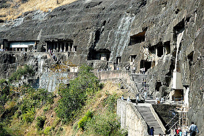 Ajanta Ellora at wonderful outside wonderful view 2012