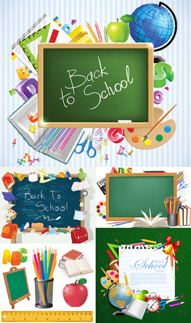 Back to School #9 - Stock Vectors