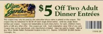 Olive Garden Printable Coupons March 2015 Printable Coupon Codes 2015