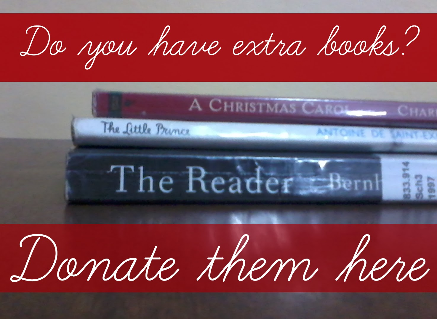 Share and Donate Books