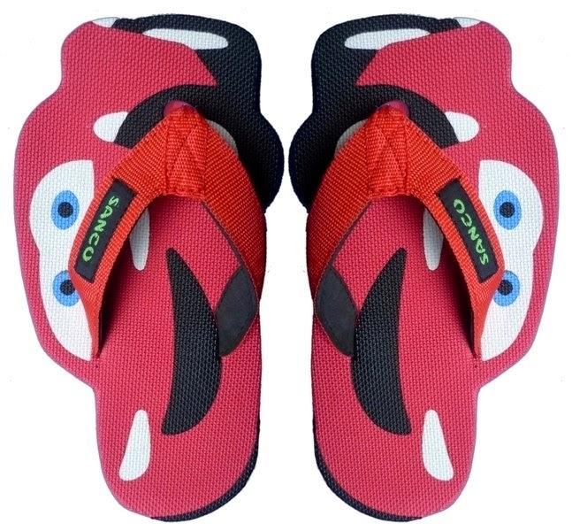 Sandal Sancu Red Cars