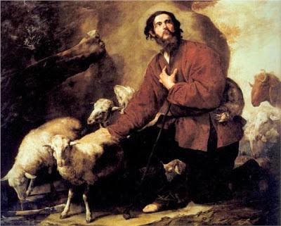 יעקב רועה את צאן לבן