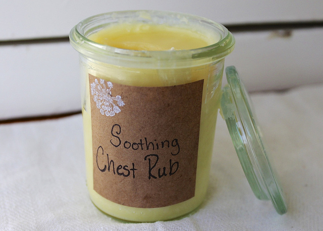 DIY Homemade Warming Chest Rub Recipe and Other Natural Cold Care Recipes