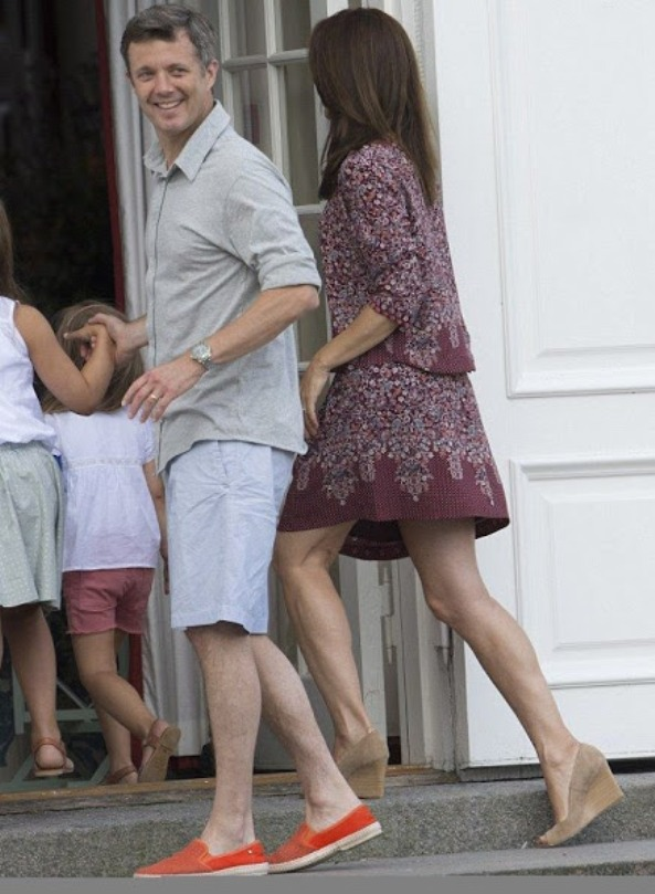 More Pictures Of The Danish Royal Family At Grasten Palace