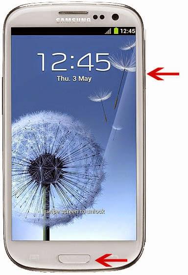Cara Mengambil Sreenshot Pada Samsung Galaxy S3