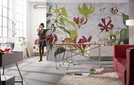 Los murales decorativos decorar tu casa es for Papel pintado murales decorativos