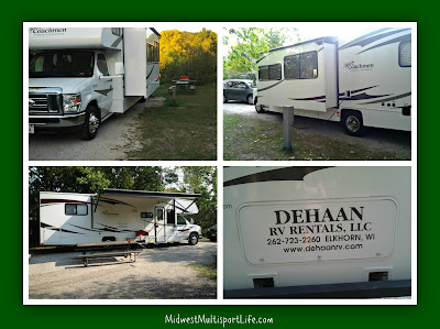 RV Rental Collage