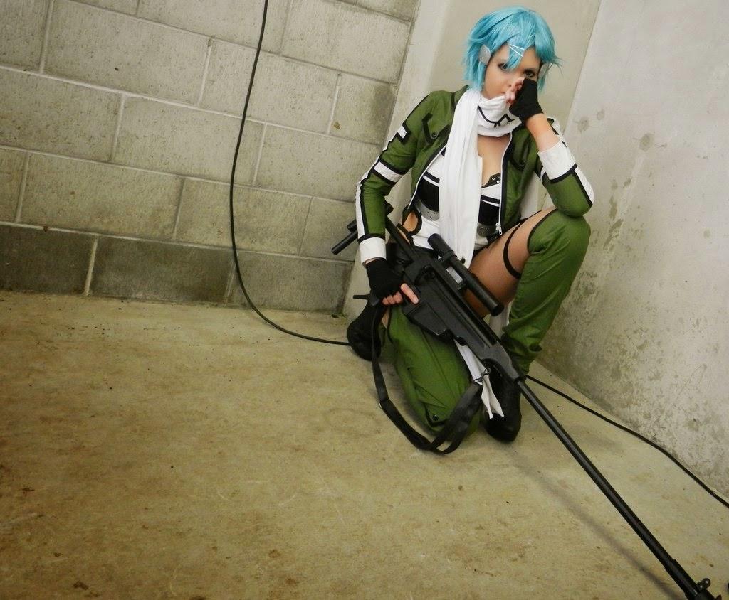 Foto Cosplay Sinon (Sword Art Online II) 07