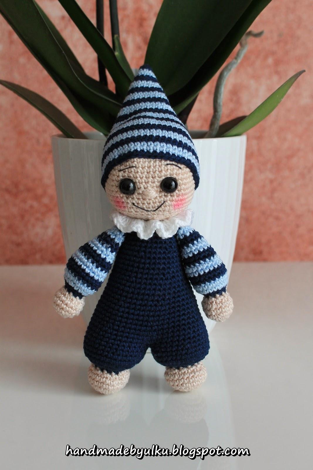 Amigurumi Baby Kostenlos : Handmade by ulku: Amigurumi Zwerg / Cuddly Baby / Cuce
