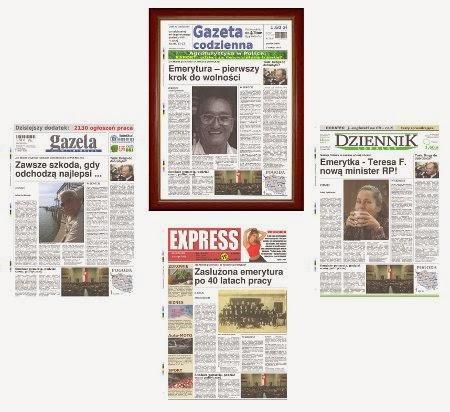 Gazeta na prezent