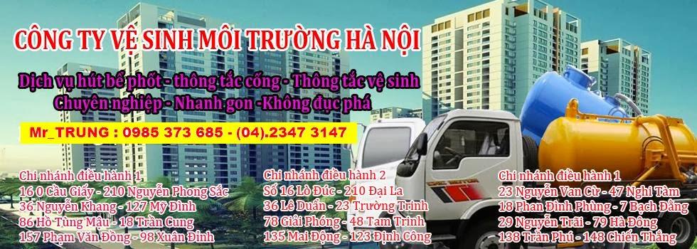 Thông Tắc Cống Bể phốt 150.000 Giá Rẻ Tại Hà Nội
