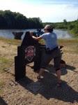 gun girl shooting 3 gun match ArmedCandy