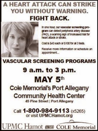 5-20 Vascular Screening Programs