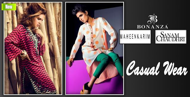 Casual Wear | Maheen Karim and Sanam Chaudhri Collection 2013 By Bonanza