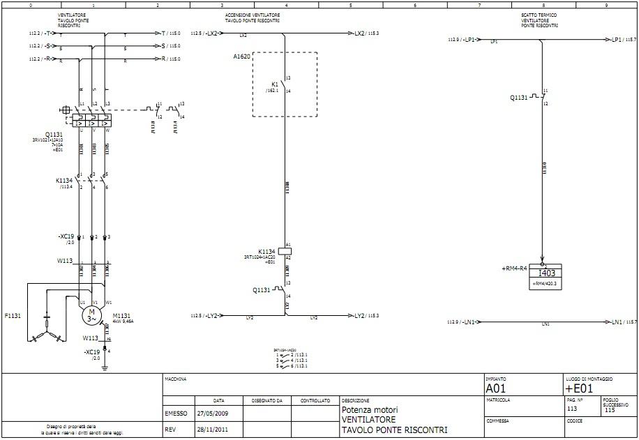 Simbologia Schemi Elettrici Industriali : Applicazioni elettrotecniche avviamento motore asincrono