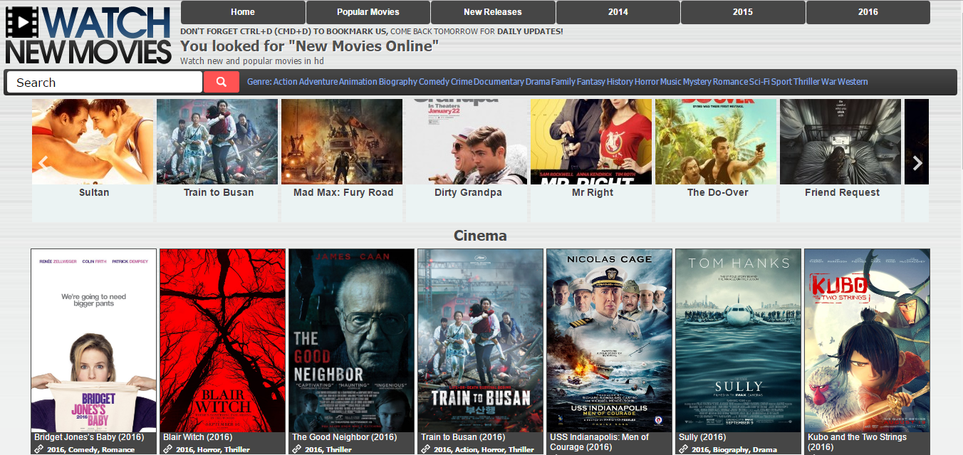 Free movies online recent releases