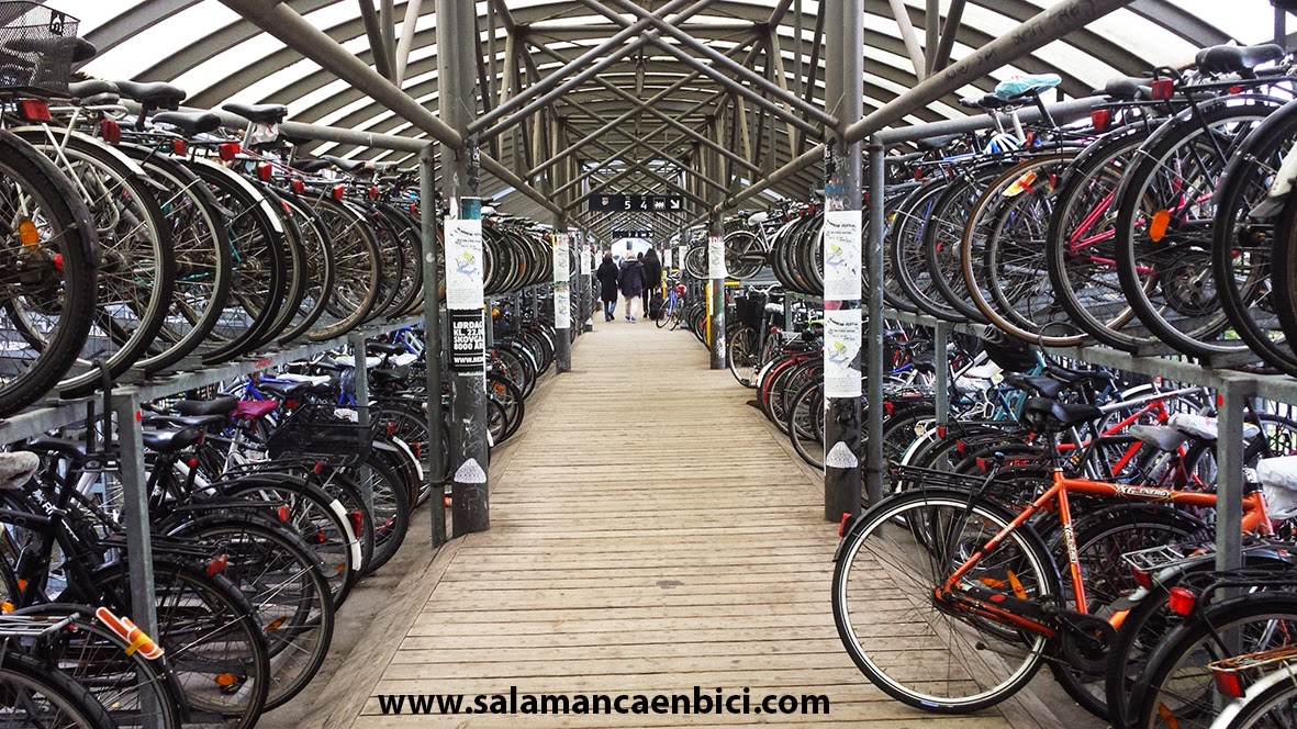 aparcamiento de bicis Aarhus