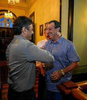 Governador Omar Aziz assegura apoio do senador Aécio Neves à proposta de prorrogação da ZFM