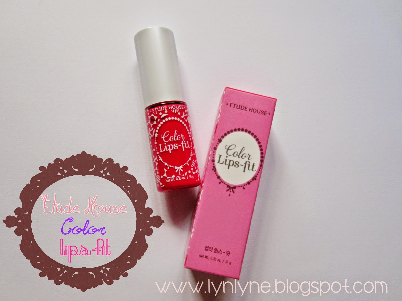 Etude House Color Lips-Fit in RD301 Perfect Fit Red ...