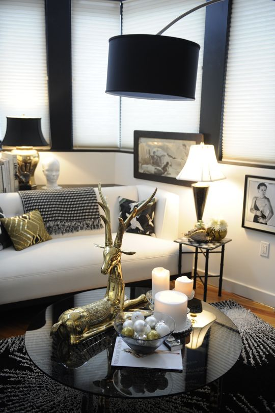 Edmonton Interior Decorator Decor Trend Black White And Gold