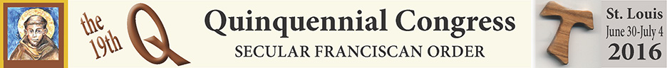 Secular Franciscan Order's Quinquennial Congress
