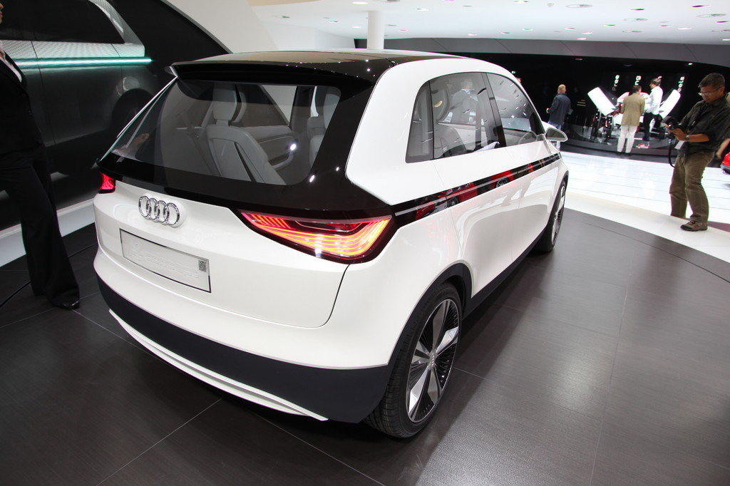 Iaa 2011 Audi A2 Concept Study Technique Presented Car