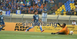 HT: Persib Bandung vs Malaysia All Star 1-0