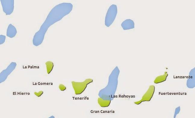 lluvia norte Gran Canaria 23 y 24 julio