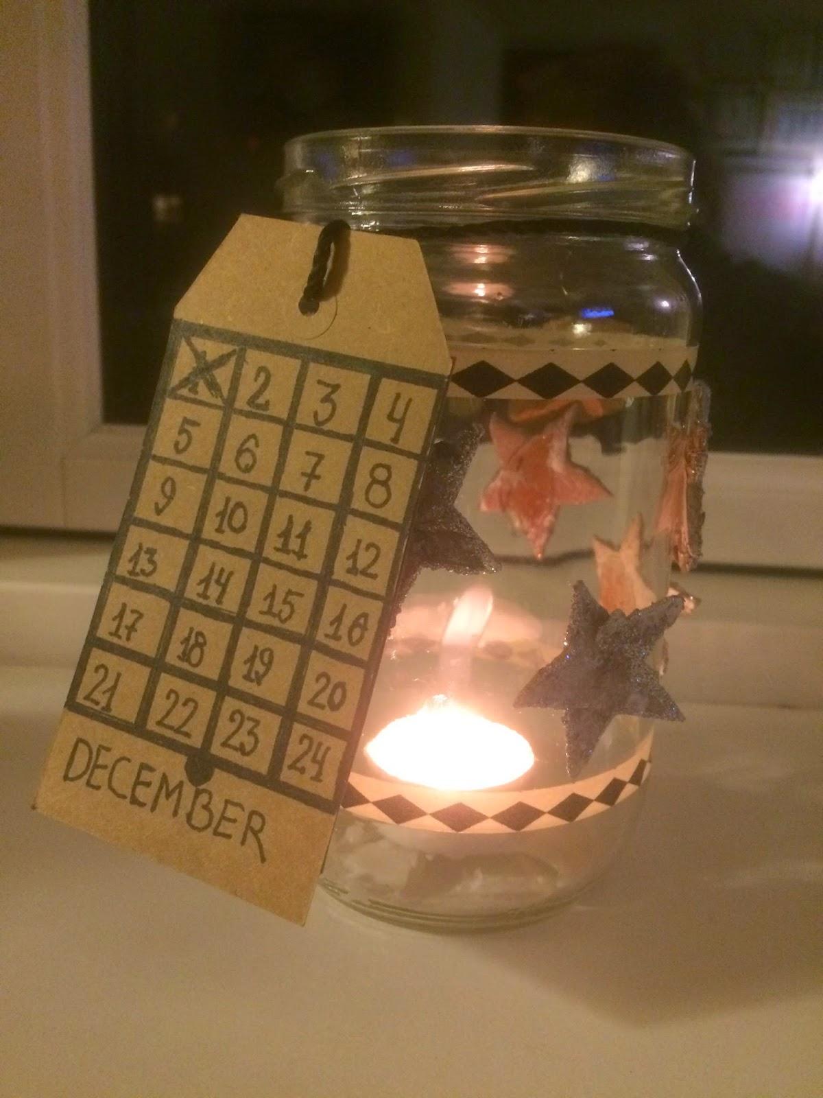 kalenderlys diy