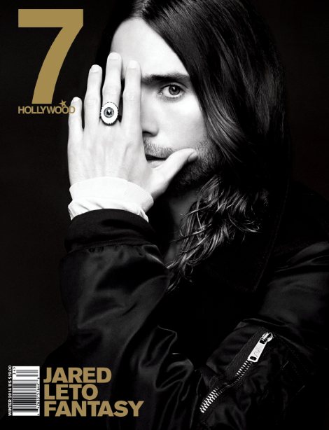 Jared Leto covers 7 Hollywood Magazine's Winter 2014