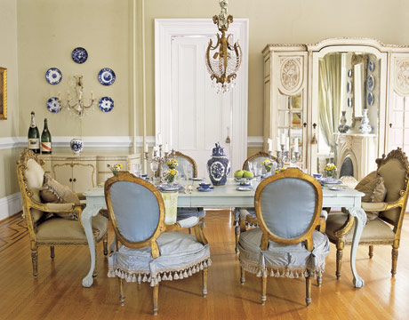 Vintage Pearl The Inspiration Dining Room