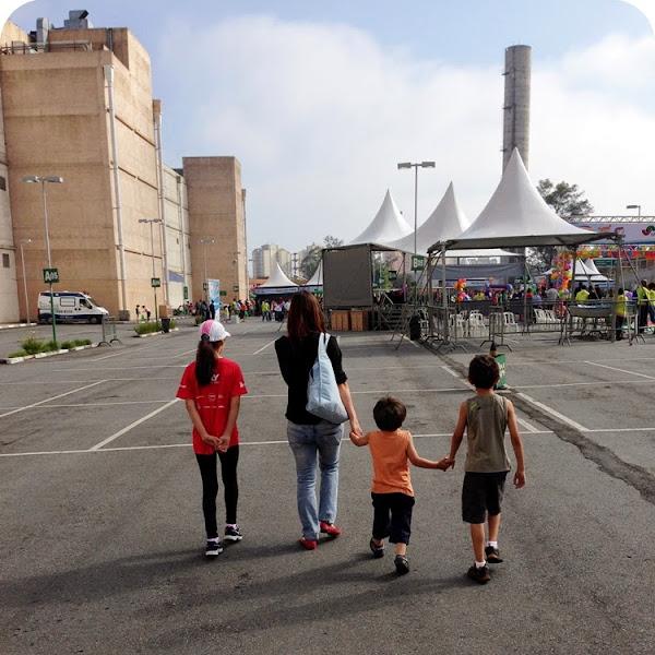 Mães... essas são maratonistas!!!