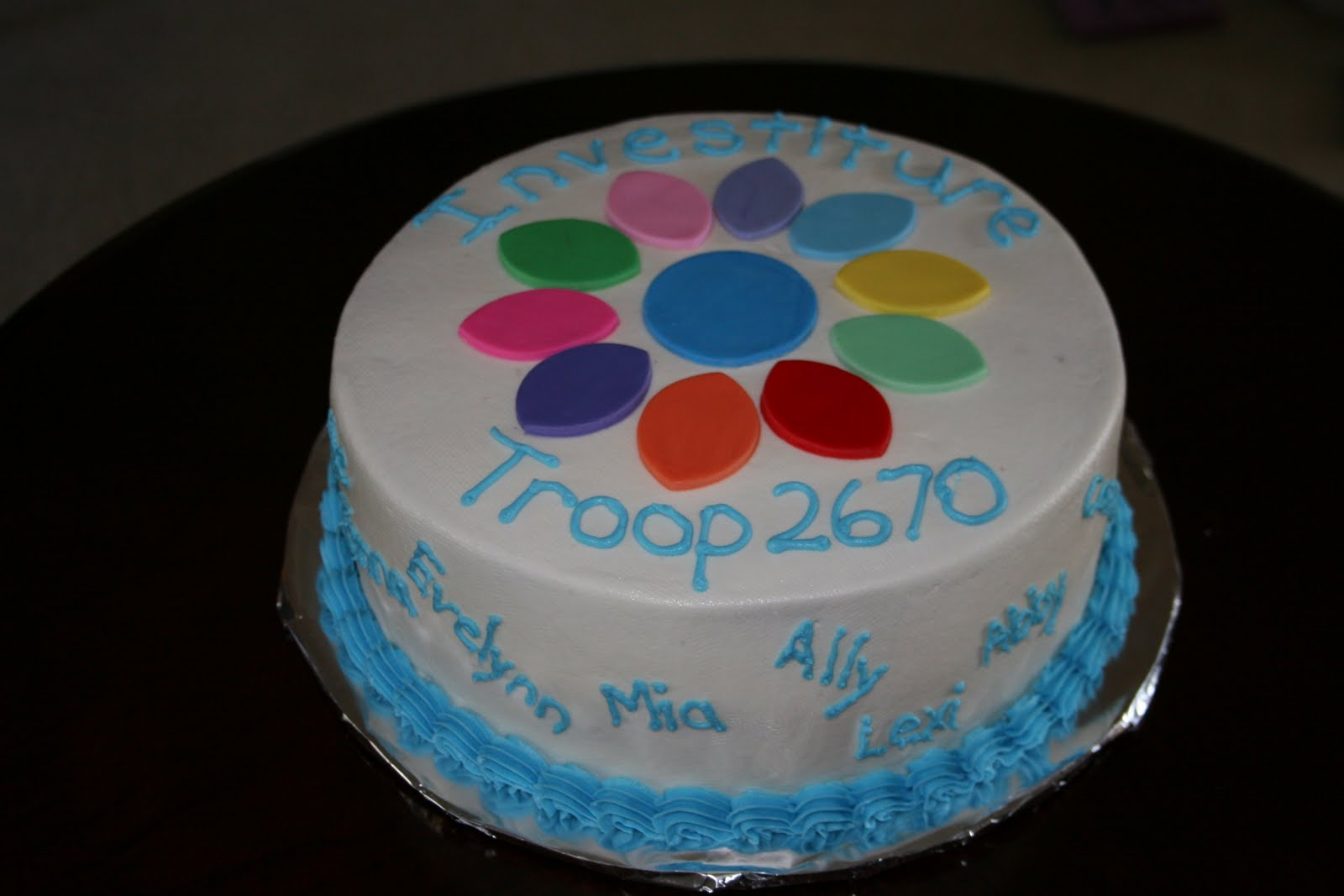 Cake Ideas For Girl Scouts : Girl Scout Cake Cake Ideas and Designs