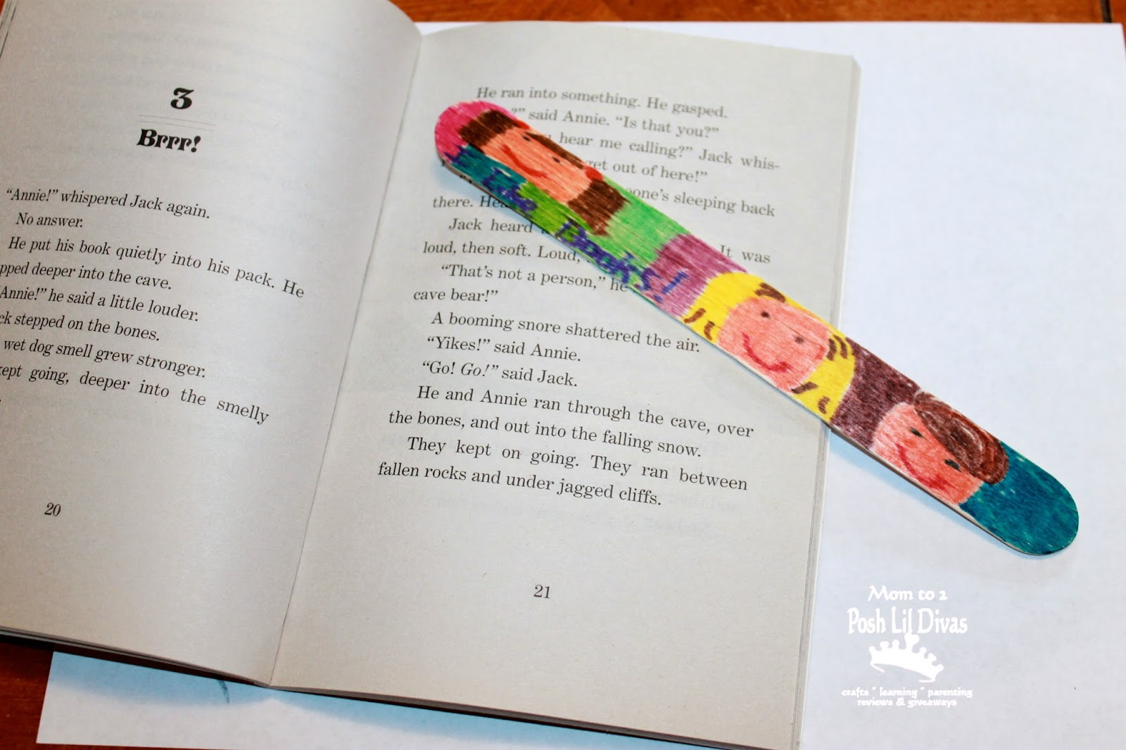 Bookmark Craft Ideas For Kids Part - 27: Easy Craft Stick Bookmark Craft For Kids