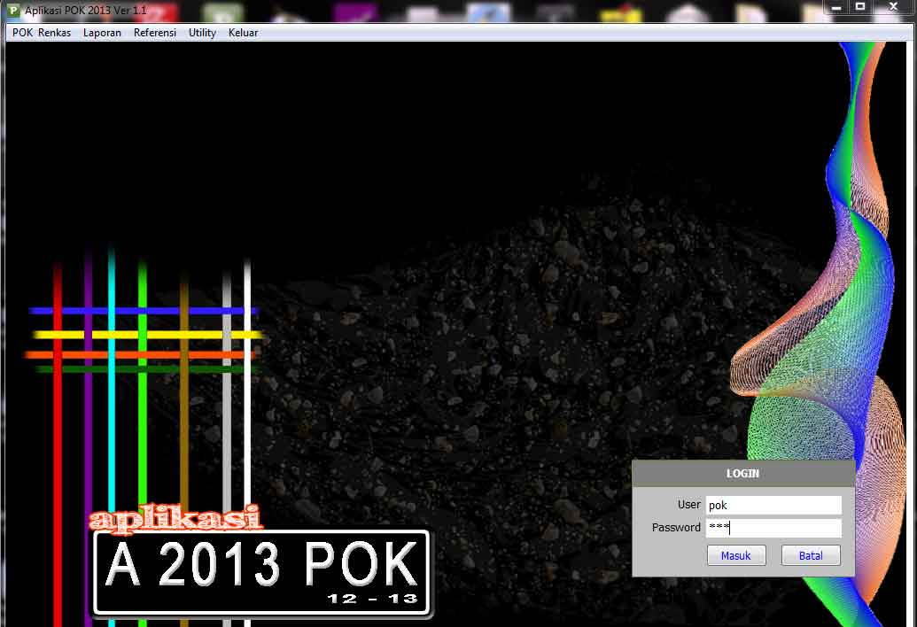 Download Aplikasi POK 2013 Update Terbaru 9 Januari 2013