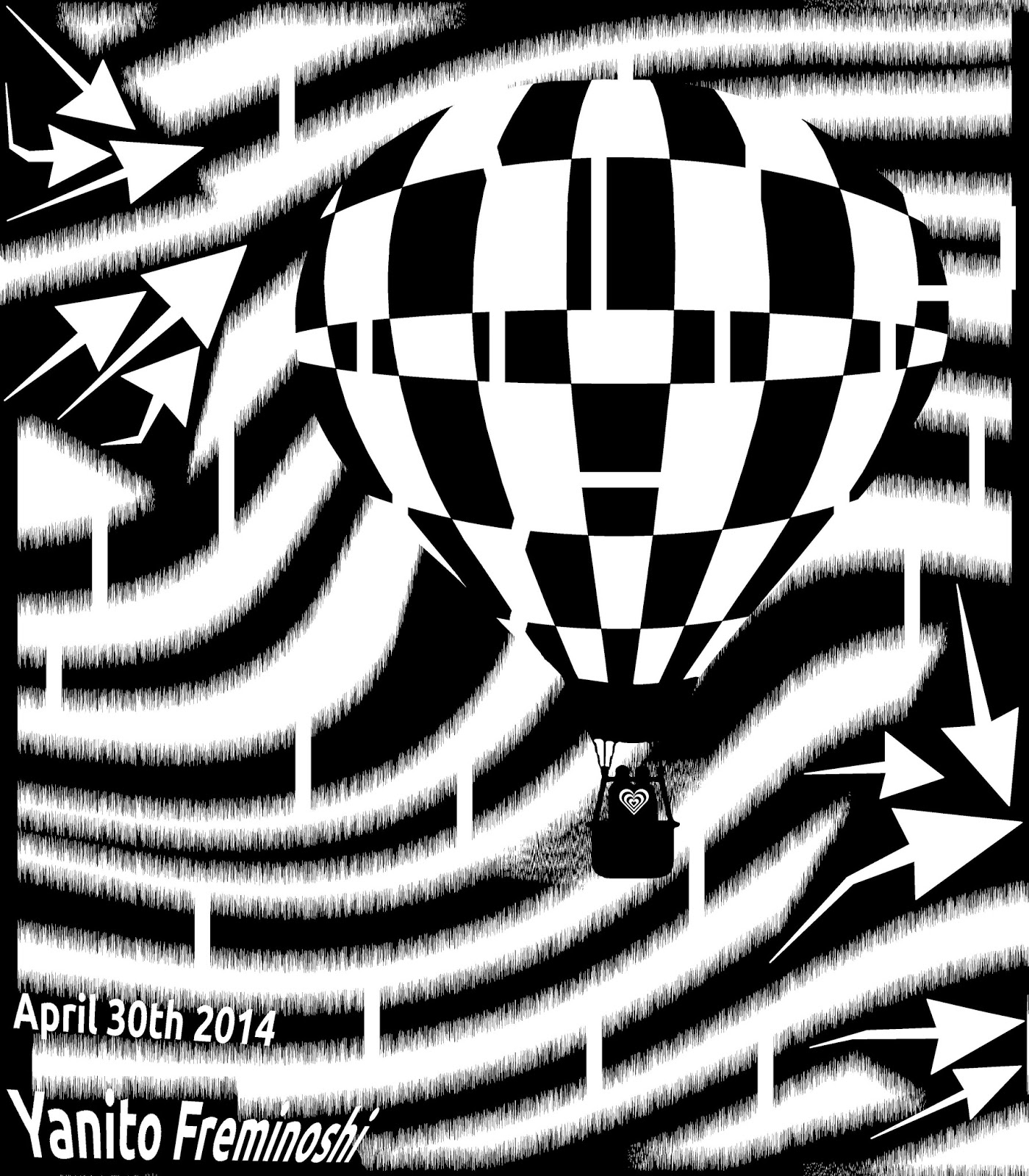 FREE MAZE of Hot Air Balloon Lovers