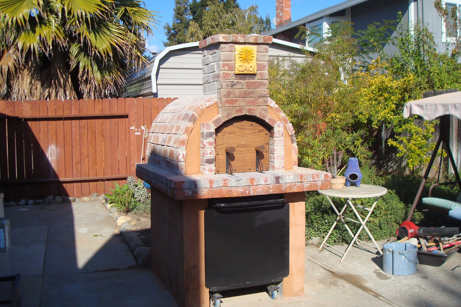 the perini family one of brickwood ovens first diy wood fired