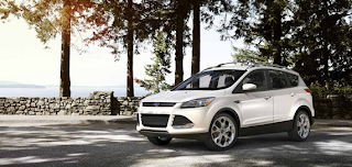 2013 Ford Escape Titanium White