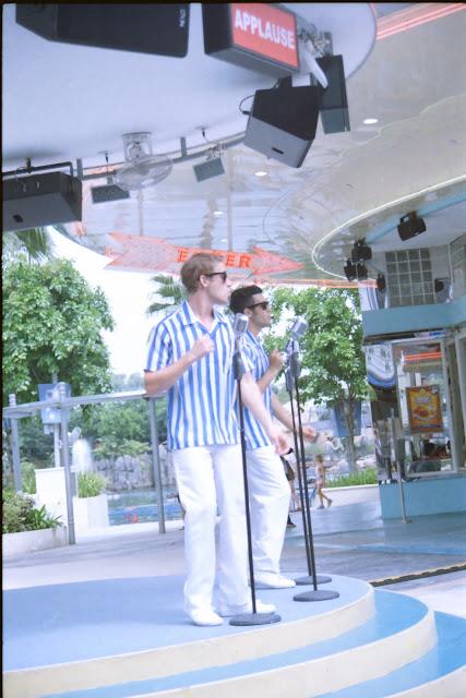 Universal Studios SIngapore performance