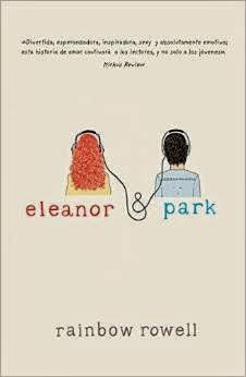"""Portada del libro """"Eleanor & Park"""", de Rainbow Rowell"""