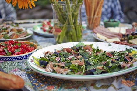 A summer aperitivo spread