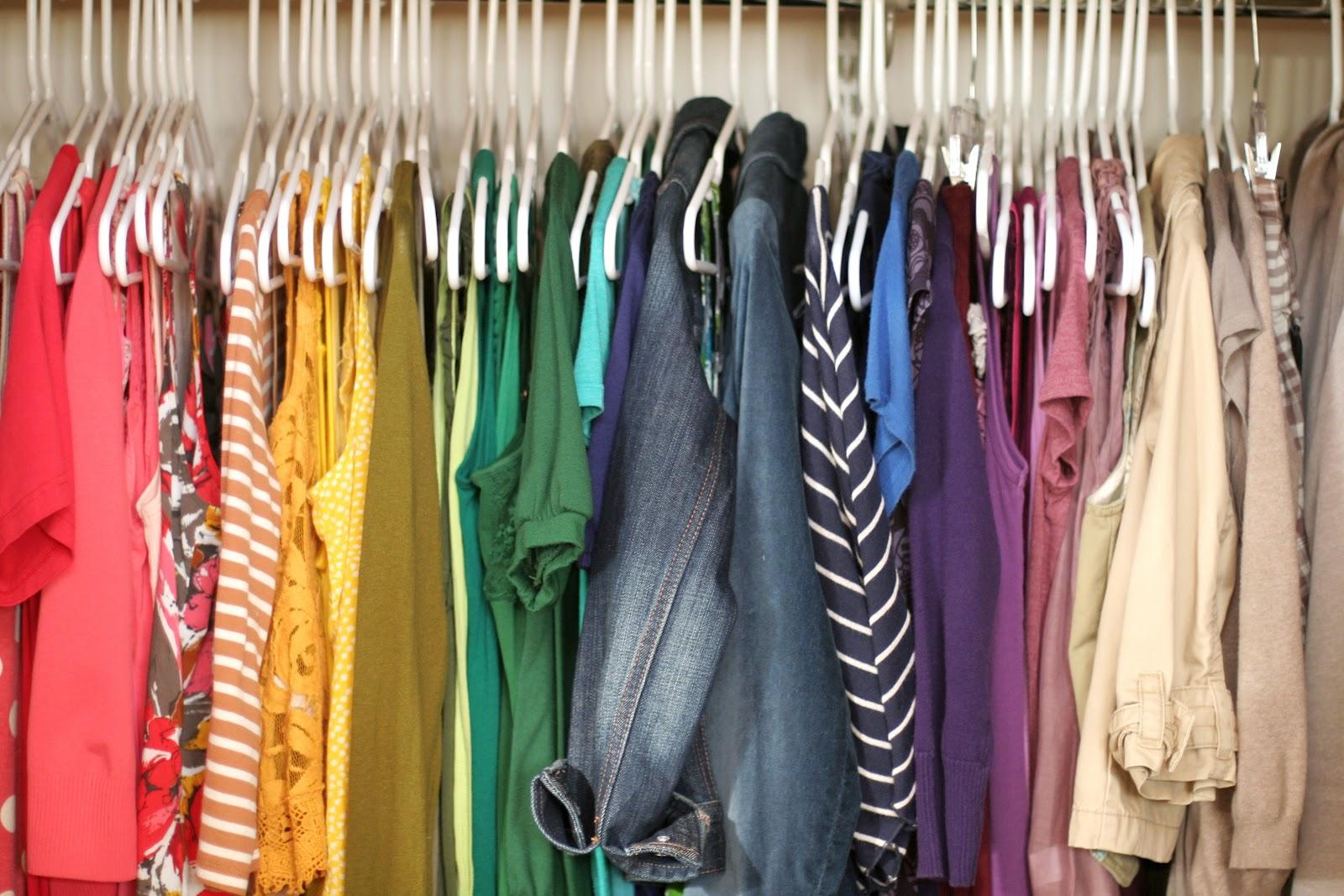 Nestled An Organized Closet