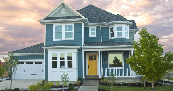 Favorite paint colors riverway and butterfield for Paint colors exterior house simulator
