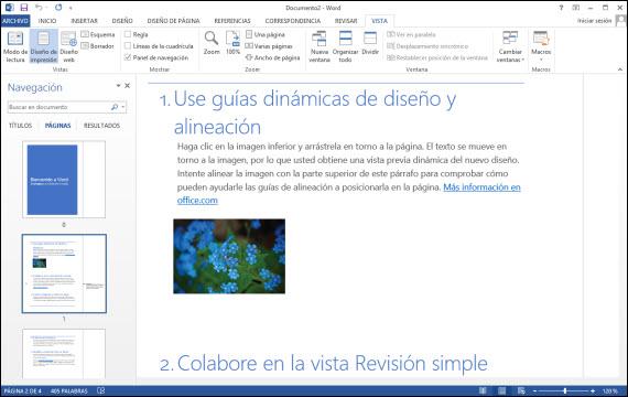 Office 2013 en versión de prueba durante 60 días