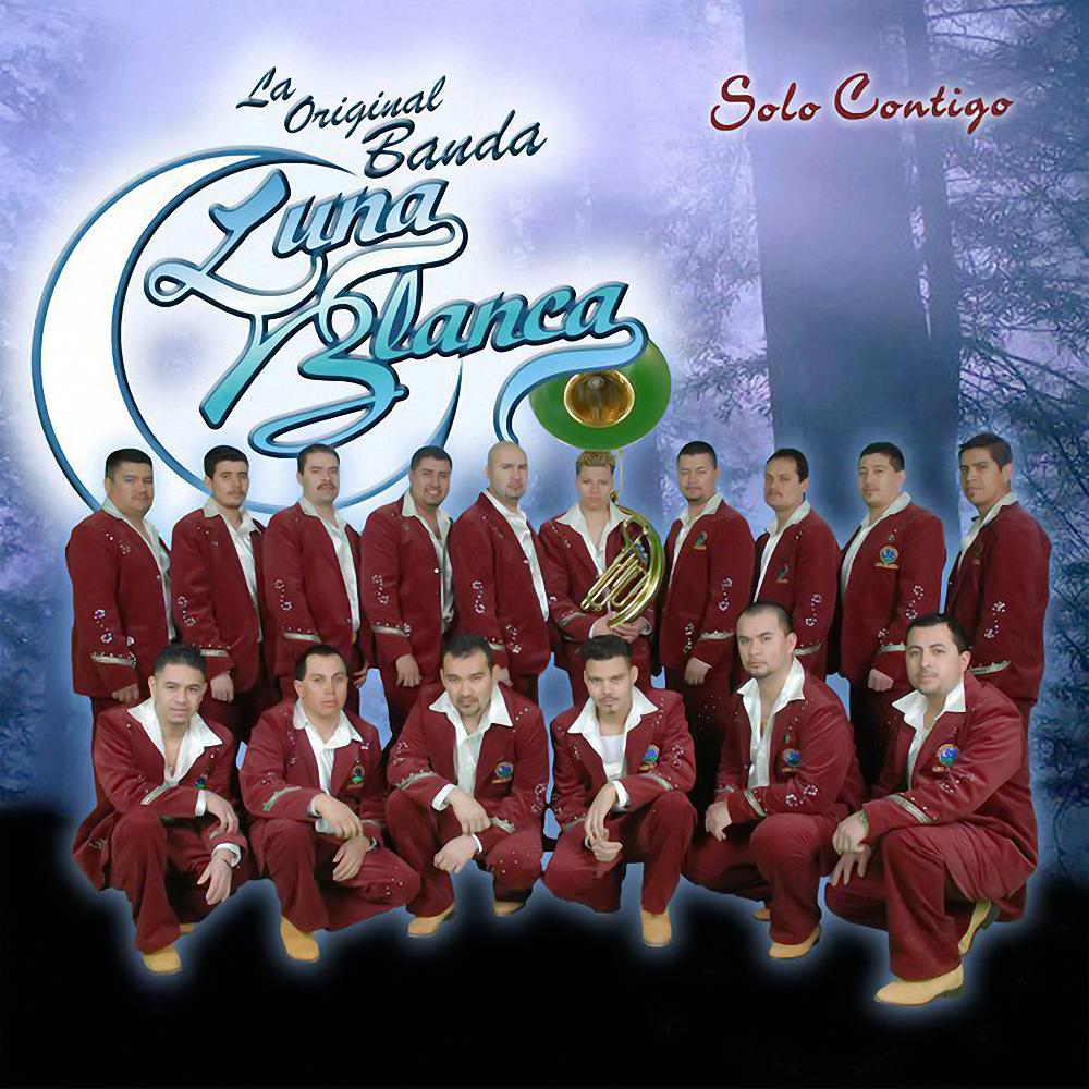 La original banda luna blanca solo contigo for Blanca romero grupo musical