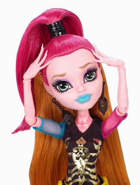 TOYS : JUGUETES - MONSTER HIGH   New Scare Mester - Gigi Grant : Doll | Muñeca  Producto Oficial 2014 | Mattel BJM41 | A partir de 6 años