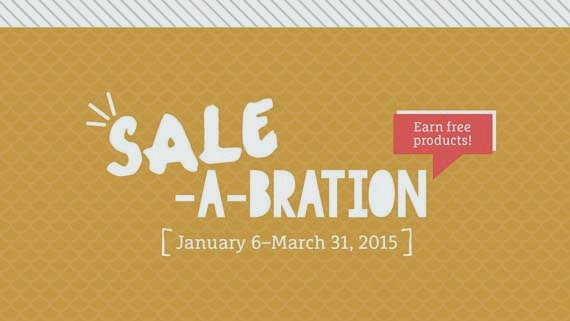Participate in Sale-A-Bration and get FREE products