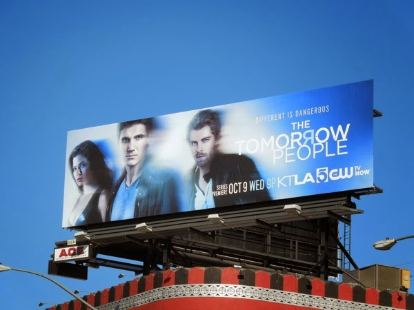 Tomorrow People USA remake billboard