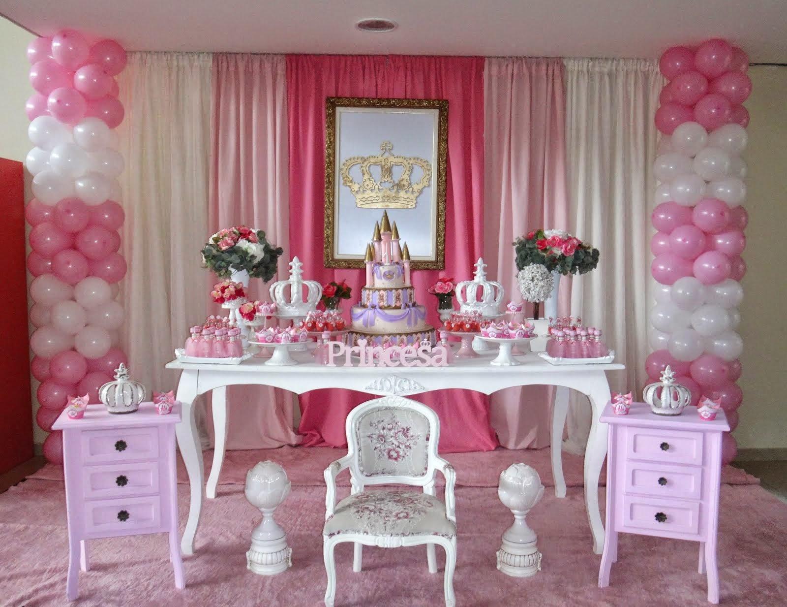 decoração princesas